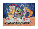 Three Shepherds Impression giclée par Lisa Graa Jensen