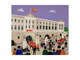 Changing the Guard Giclee Print by William Cooper