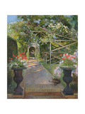 The Rose Trellis, Bedfield, 1996 Giclee Print by Timothy Easton