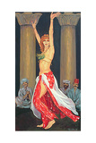 Belly Dancer, 1993 Giclee Print by Tilly Willis
