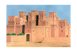 Kasbah, Southern Morocco, 1998 Giclee Print by Larry Smart