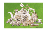 Tea, 1993 Giclee Print by E.B. Watts
