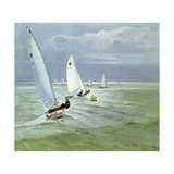 Around the Buoy Giclee Print by Timothy Easton