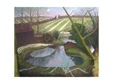 Winter Evening Giclee Print by John Northcote Nash