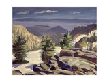 Mountain Vista, at Lassen Volcanic National Park, 2000 Giclee Print by Howard Ganz