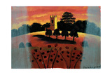 Church on the Severn Giclee Print by Sara Hayward