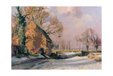 Norfolk Thaw, 1985 Giclee Print by Trevor Chamberlain