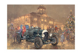 Christmas Party at Brooklands Giclee Print by Peter Miller