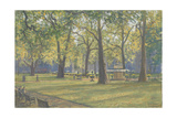 Berkeley Square, 2009 Giclee Print by Julian Barrow
