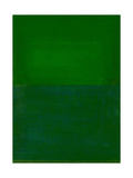 Space, Time, Motion, Green, 2010 Giclee Print by Izabella Godlewska de Aranda