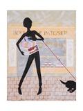 Boulangier Patissier, 2009 Giclee Print by Jenny Barnard