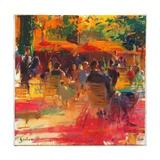 Maturing Sun, Paris Giclée-tryk af Peter Graham