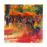 Maturing Sun, Paris Giclee Print by Peter Graham