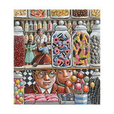 The Little Sweetshop, 2006 Giclee Print by P.J. Crook