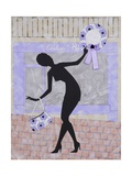 Cailloux Bleu, 2009 Giclee Print by Jenny Barnard