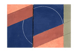 Painting - Interrupted Circle, 2000 Giclee Print by George Dannatt