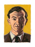 Graham Greene, 2008 Giclee Print by Sara Hayward