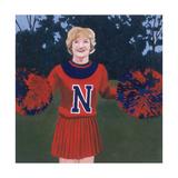 'N' Cheerleader, 2000 Giclee Print by Joe Heaps Nelson