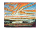 Sunrise, Les Eboulements, Quebec Giclee Print by Patricia Eyre