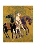 3 Horses, 1975 Giclee Print by Laila Shawa