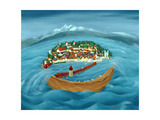 Flood, 1999 Giclee Print by Magdolna Ban