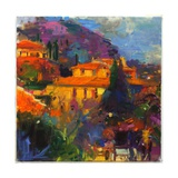 St Paul De Vence Giclee Print by Peter Graham