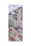 The Institute Clock, Caton, Lancashire, 2009 Giclee Print by Sandra Moore