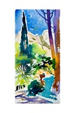 Garden in the South Giclee Print by Simon Fletcher