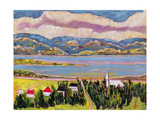 St. Germain, Quebec Giclee Print by Patricia Eyre