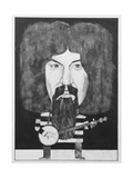 Portrait of Billy Connolly, Illustration for 'The Listener', 1970s Giclee Print by Barry Fantoni