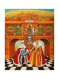 The Winter King and Queen, 2010 Giclee Print by Frances Broomfield