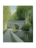 The Kennet and Avon Giclee Print by Kevin Hughes