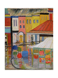 Spring Rain, Bywood Market Giclee Print by Patricia Eyre