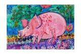 Pig Giclee Print by Brenda Brin Booker