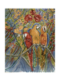 Good Gossip Giclee Print by Patricia Eyre