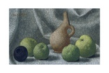 Cycladic Pot with Apples, 1961 Giclee Print by John Armstrong