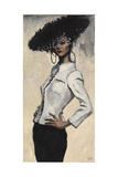 Suzy Chanel, 1997 Giclee Print by Robert Burkall Marsh