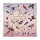 Do You Know Your State Bird, 1996 Giclee Print by Joe Heaps Nelson
