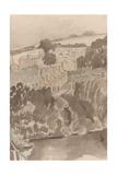 The River at Bures, Suffolk, C.1935 (Detail) Giclee Print by John Northcote Nash