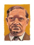 Evelyn Waugh, 2008 Giclee Print by Sara Hayward