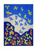 Shower Curtain, 2010 Giclee Print by Jan Groneberg