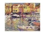 Harbour at Cassis Giclee Print by Peter Graham