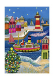 Seaside Santa Giclee Print by Stanley Cooke