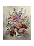A High Summer Bouquet Giclee Print by Albert Williams
