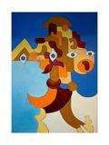 Big Sphinx, 2009 Giclee Print by Jan Groneberg
