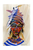Am I an Aborigin 2, 2008 Giclee Print by Oglafa Ebitari Perrin