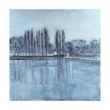 Dukes Meadow's, Towards Putney-On-Thames Giclee Print by Sophia Elliot