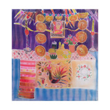 Mexican Shrine with Frida Kahlo, 2006 Giclee Print by Hilary Simon