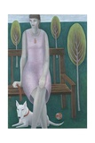 Woman in Park, 2006 Giclee Print by Ruth Addinall