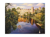 Warwick Castle, 2008 Giclee Print by Kevin Parrish
